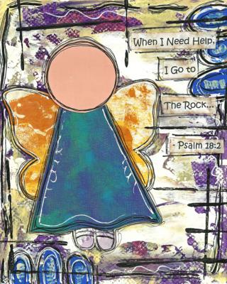Psalm 18:2 Blank Note Card