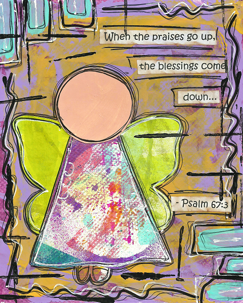 Psalm 67:3 Blank Note Card