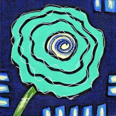 Whimsical Flower 1