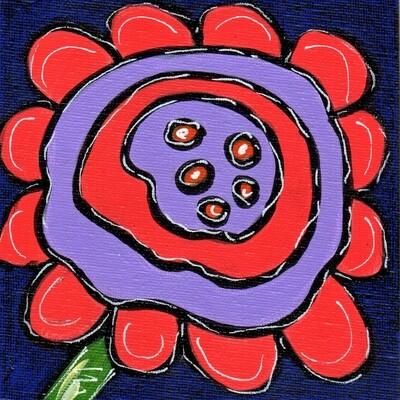Whimsical Flower 4