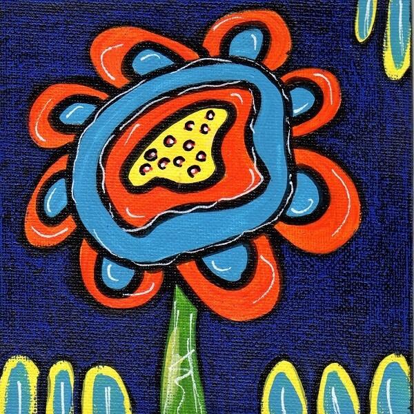 Whimsical Flower 5
