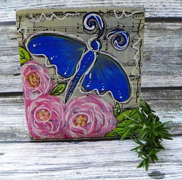Butterfly Art Block 2