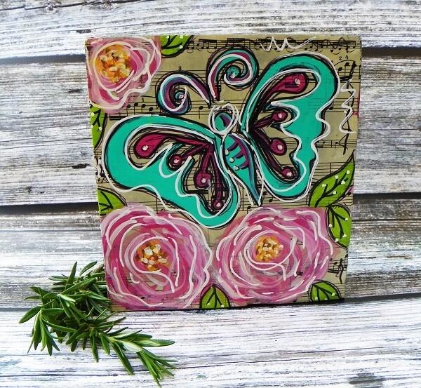 Butterfly Art Block 1