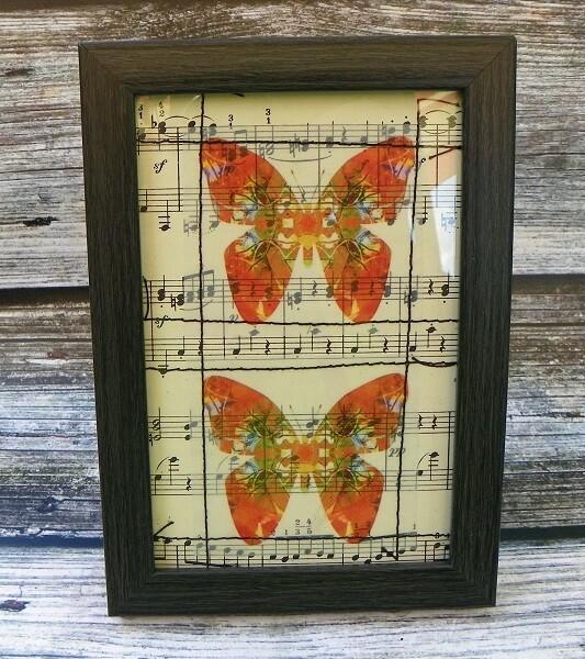 Butterflies & Vintage Music 1