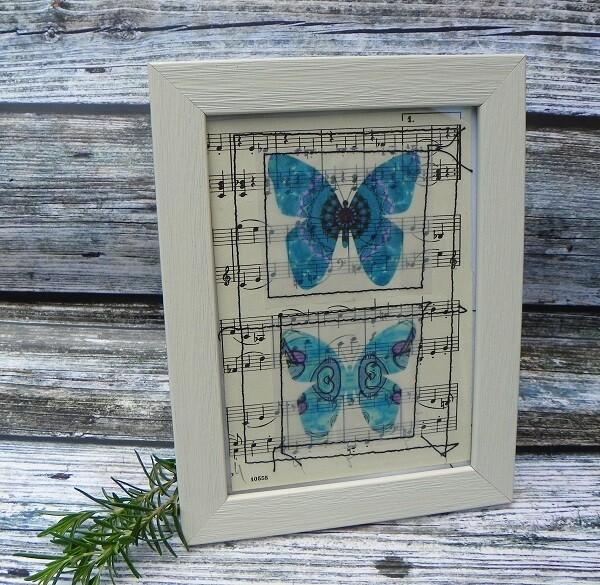 Butterflies & Vintage Music 4