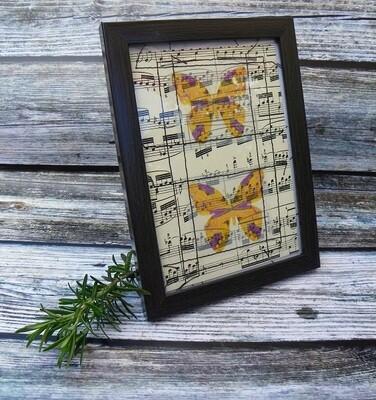 Butterflies & Vintage Music 3