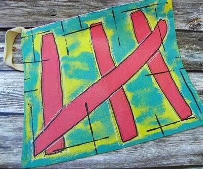 Canvas Bag w/Zipper