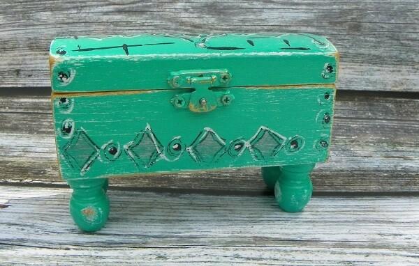 Hand Painted Box