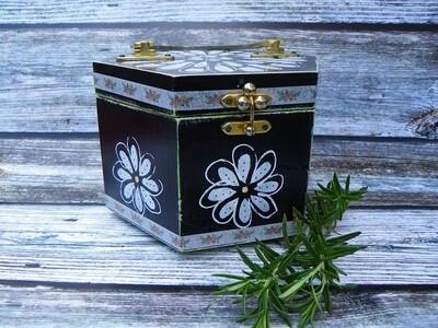 Vintage Hand Painted Box Purse