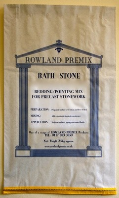 Bath Stone Bedding/Pointing Mix: 25kg