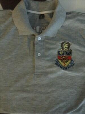 Kappa Psi Polo Shirt (grey)