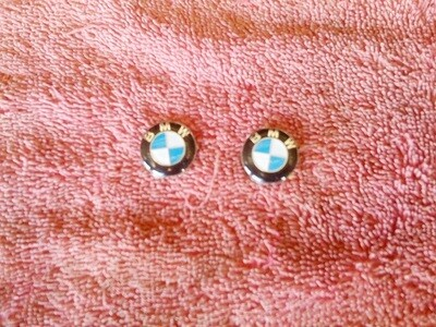 K75; K100; K1100 21mm BMW Badge. (T9-WH2)