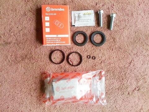 K75; K100 8v; K1; K100RS 16v; K1100RS/LT Brake Caliper Repair Kit (T6-S15)