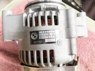 K40-K43 K1200S; K1200R; K1200R Sport 50 amp Alternator. (S-12)
