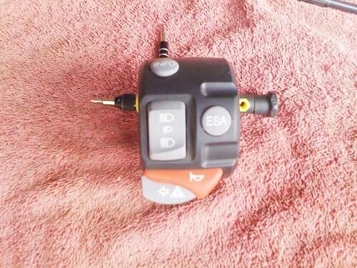 K1200S; K1300S left Handle Bar Switch. (S-21)