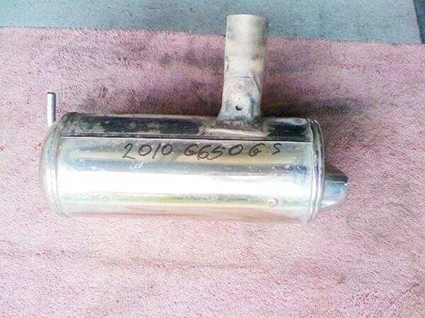 G650 GS Right Muffler (CON)