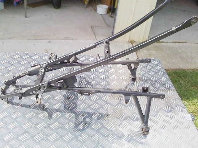 F650 GS Rear Frame