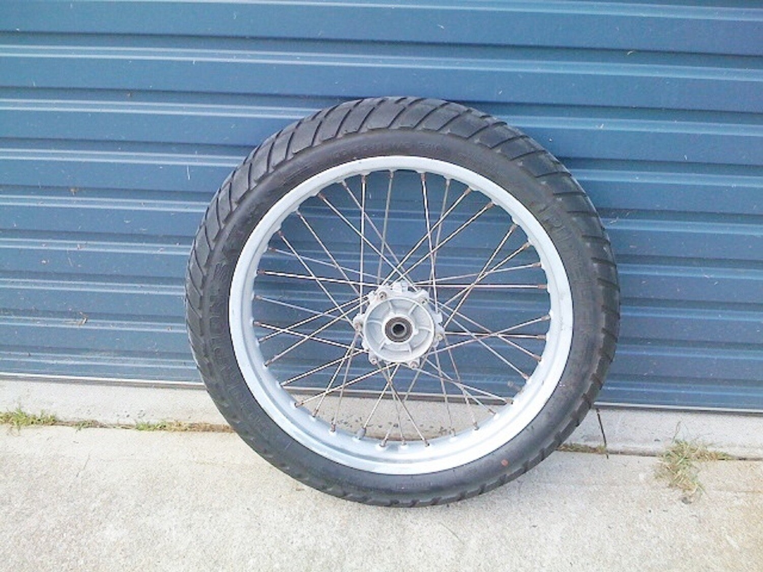 F650GS 2.50×19 Front Rim Spoked. (WH-4)