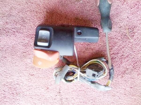 R850R; R1150 Single Spark Models Left Handle Bar Switch (T2-S24)