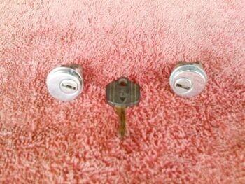 K75RT; K100RT/LT; K1100LT Pocket Lid Lock Set. (WD2-T3)