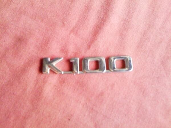 K100 Chrome Badge (T9-SWH2)
