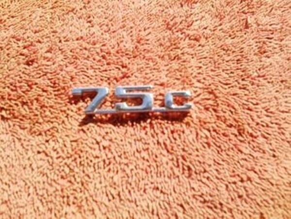 K75C Chrome Badge (T9-SWH2)