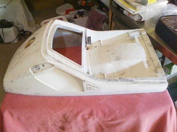 K75; K100; K1100 Upper Rear Seat Cowl (W-3)