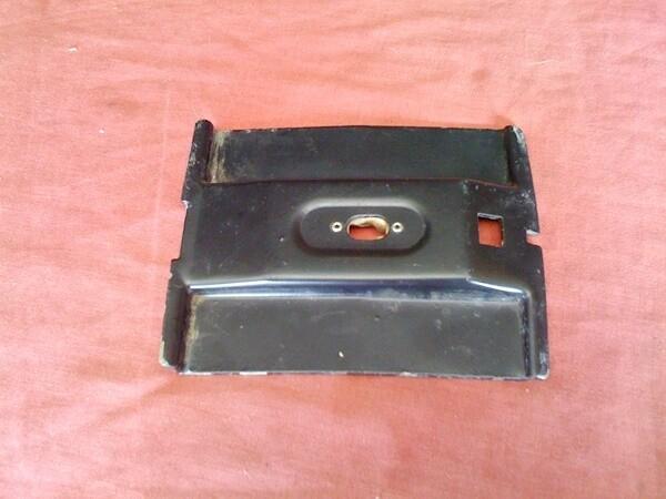 K75-K1100; R Model Mono Shock; F650 Funduro, F650ST 22 Litre Top Case Mounting Plate. (T6-S22)