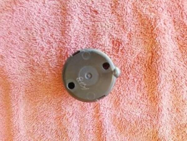 K1100LT Temperature/Fuel Gauge Rear Cover. (WD1-T1)