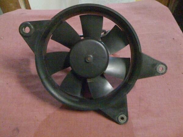 K75; K100 8v Series Radiator Fan. (S-G)