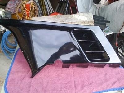 K100RS Left Lower Fairing Panel. (B-W)