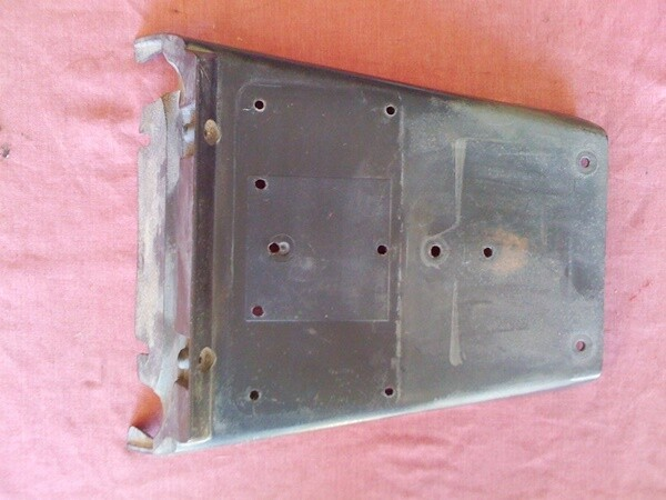 K75 K100 Series Registration Plate Holder. rear Guard. (CU-4B)
