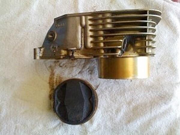R850GS/R/RT; R1100R/RS/S/GS/RT; A61 Left Cylinder & Piston (S-C)