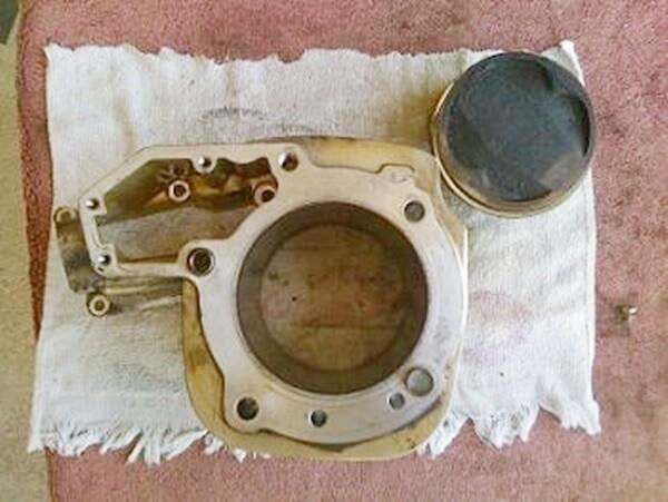 R85GS/R/RT; R1100R/RS/S/GS/RT; A61 Right Cylinder & Piston (S-C)