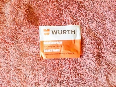 WURTH Anti Squeal Brake Caliper Paste 5.5g (T6-S15)
