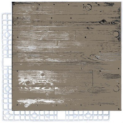 Turf_Tile - Pedestrian Woodgrain