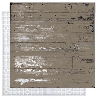 Turf_Tile - Flat-Back Woodgrain