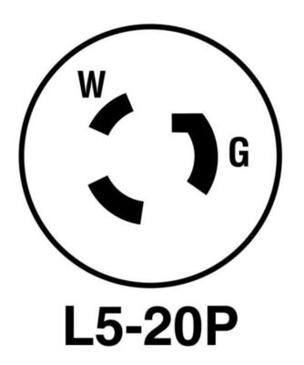 Power in 20amp LED Turf_Tile