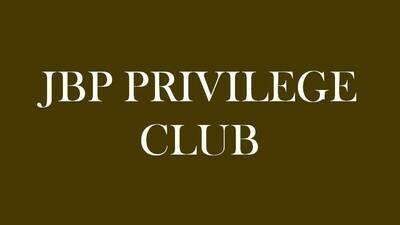 JBP PRIVILEGE VOUCHERS