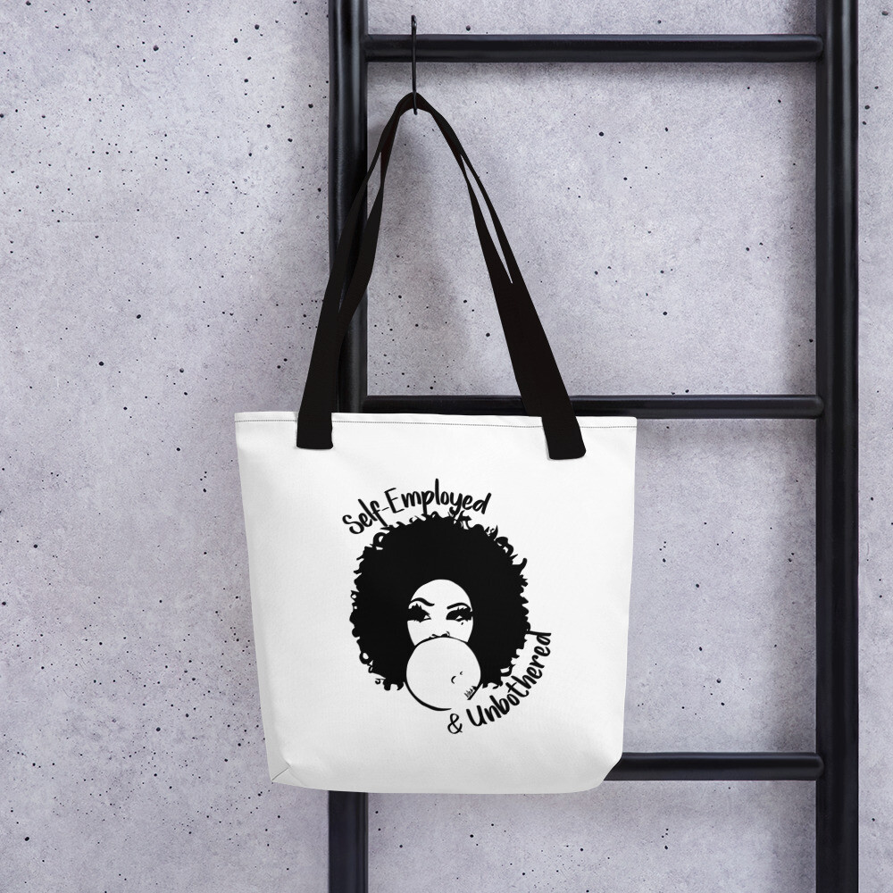Self-Employed & Unbothered Tote bag