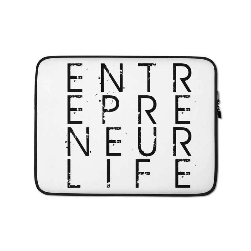 Entrepreneur Life Laptop Sleeve