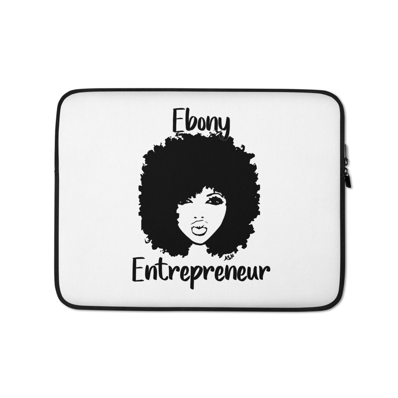Ebony Entrepreneur Laptop Sleeve