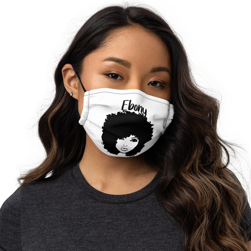 Ebony Entrepreneur Premium face mask