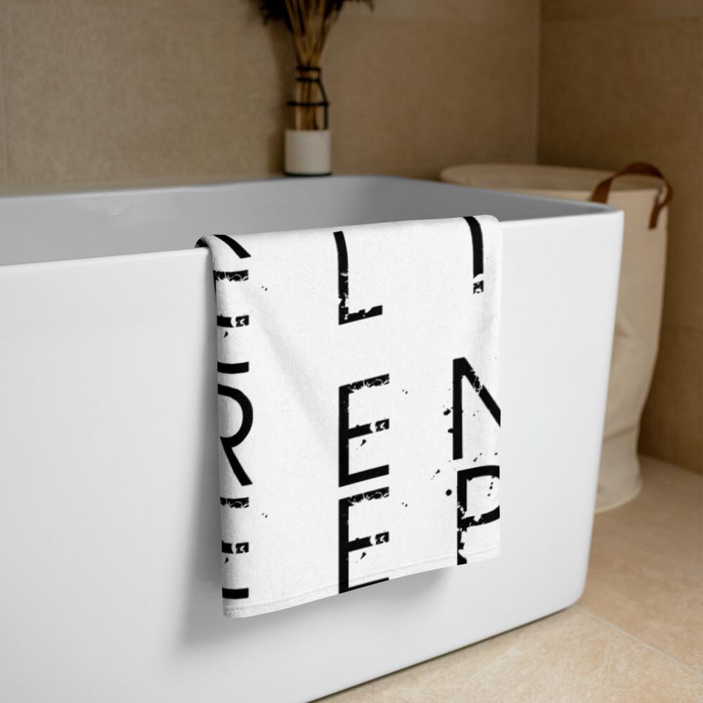 Entrepreneur Life Towel