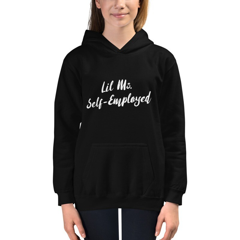 Girls Lil Ms. Self-Employed Hoodie