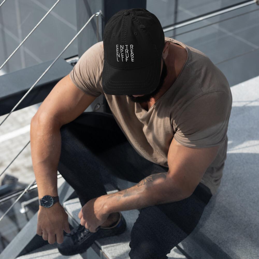 Entrepreneur Life Distressed Dad Hat