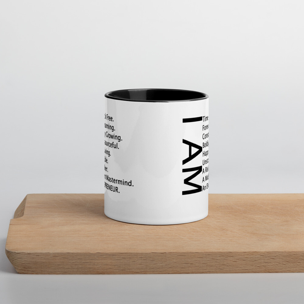 I am Mug with Color Inside
