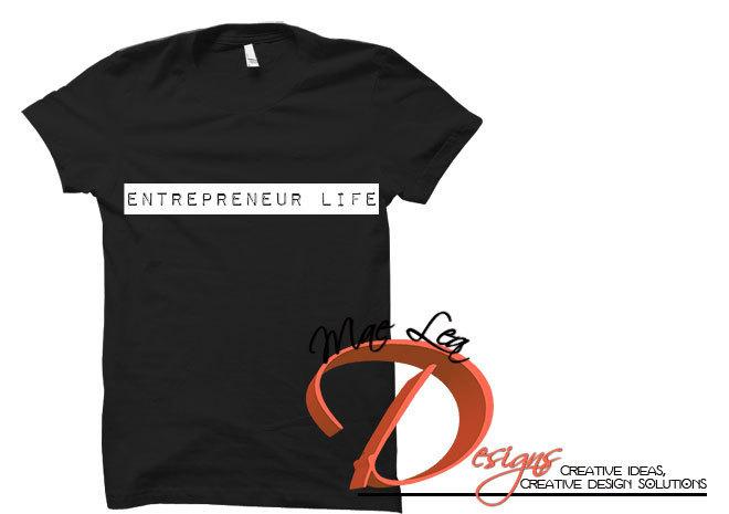 Entrepreneur Life™ Unisex Tee - Black