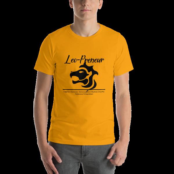 Leo-Preneur Short-Sleeve Unisex T-Shirt