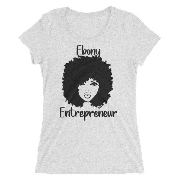Ebony Ladies' short sleeve t-shirt
